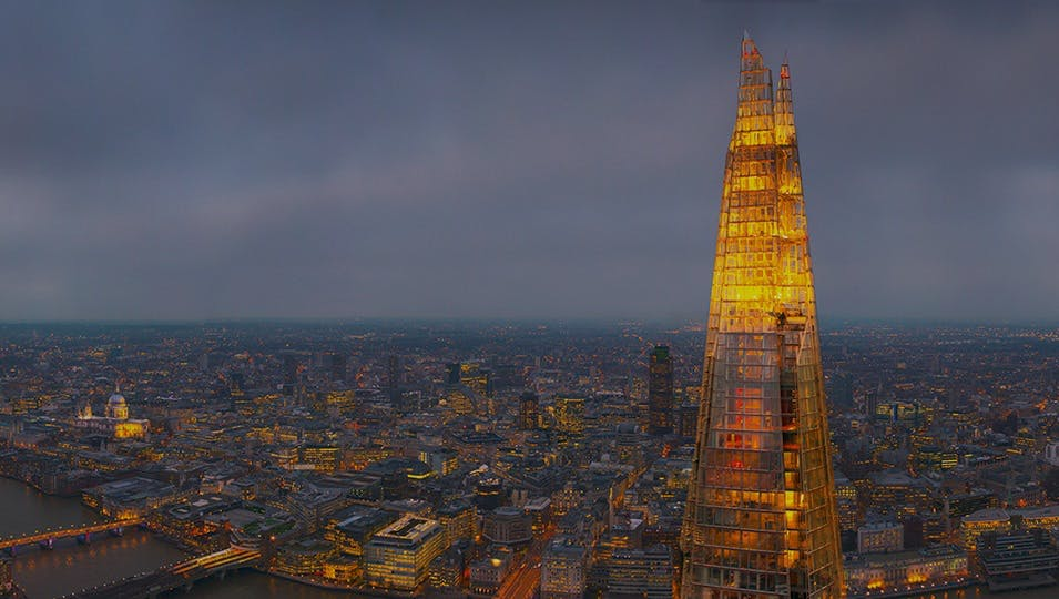 The View from the Shard: sube al rascacielos más alto de Europa